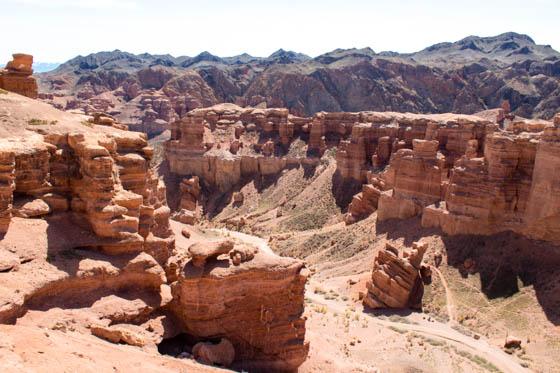 Чарынский каньон рядом с Алматы