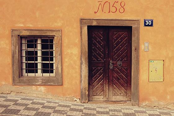 Экстерьер здания в Праге