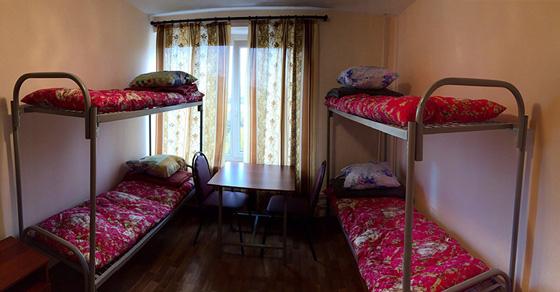 Четырёхместный номер в общежитии
