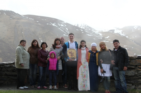 Венчание украинцев в Грузии