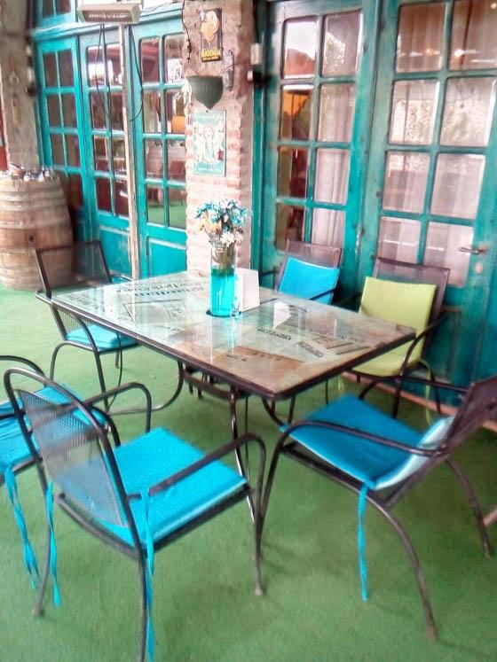 интерьеры ресторана Chateau Mere
