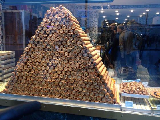 Восточные сладости в Стамбуле