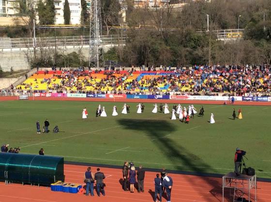 Россия - Грузия, регби, матч в Сочи, март 2016