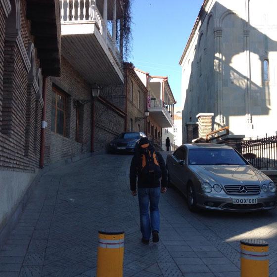 На Гудаури по улочкам Тбилиси