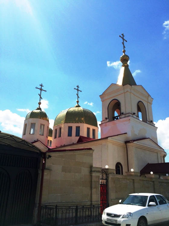 Православный храм в Грозном