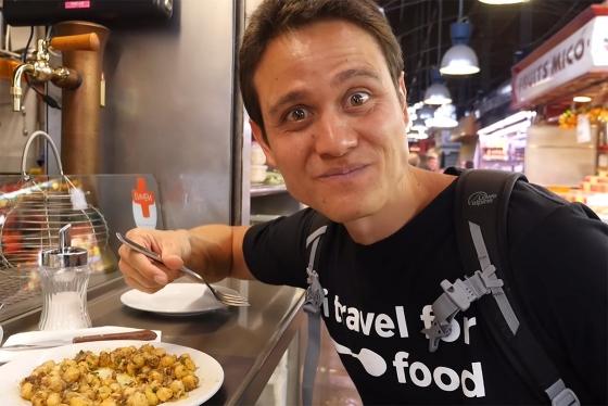 Марк Винс открывает кулинарный мир Испании